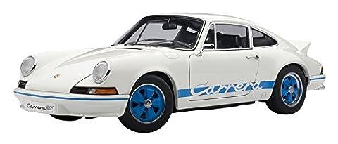 PORSCHE 911 CARRERA RS 2.7 1973 WHITE WITH BLUE STRIPES