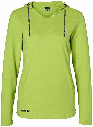 Erima t-shirt à manches longues pour femme green Vert - Lemon Green Melange