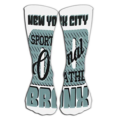 Xunulyn Hohe Socken Pattern Men's Socks High Graduated Casual Socks 19.7