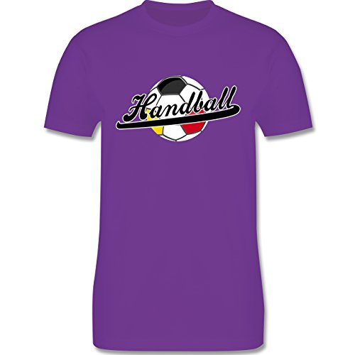 Handball - Handball Deutschland - Herren Premium T-Shirt Lila