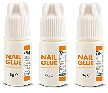The Edge 3G Adhesive False Super Strong Nail Tips - Pack of 3