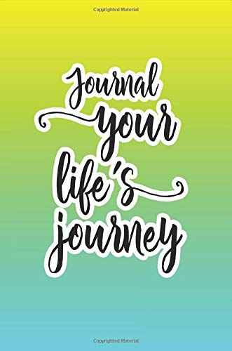 Journal Your Life's Journey: Journals To Write In For Women Cute Plain Blank Notebooks