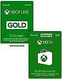 Xbox Live Gold Mitgliedschaft 12 Monate + 10 EUR GRATIS [Xbox Live Online Code]
