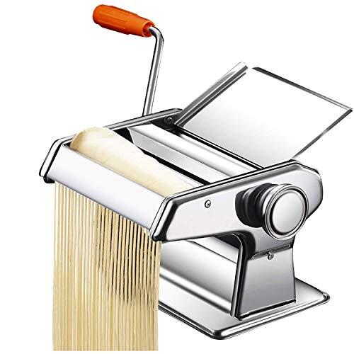 Woo macchina per pasta con passaggi per spaghetti, tagliatelle, fettuccine e lasagne - macchina per pasta, pasta maker