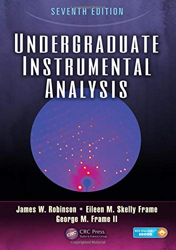 Undergraduate Instrumental Analysis