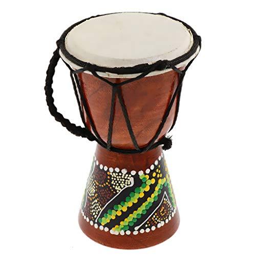 perfeclan Bongo Kinder Trommel Bongo Instrumente Percussion Rhytmus lernen Handtrommel