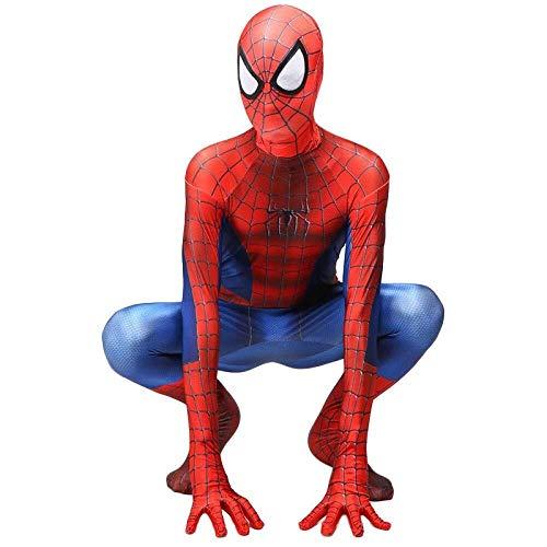 Hcxbb-b Spider-Man Kostüm, Halloween Maskerade Spider-Man Kostüm Siamese Tights Party Cosplay Kostüm Party (Farbe : Adult, Size : Small) (Grüne Adult Strumpfhosen)