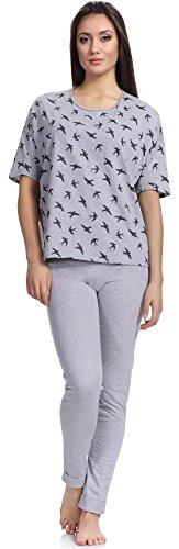 Italian Fashion IF Pyjama Femme Cleo 0230 Melange