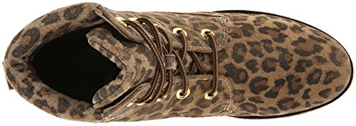 Bronx Mixer Up Cuir Bottine Camel