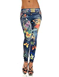 1dd41b0b633c1 Beautyjourney Jeans Femme Taille Haute Slim Elargisseur Pantalon Grossesse  Pantalon Paper Sexy Pantalon Jean Femme Skinny