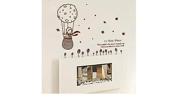 Belle sir/ène Princesse Chambre Stickers Muraux Enfants Chambre D/écoration Stickers PVC Salle De Bains Autocollants Imperm/éables Color/é