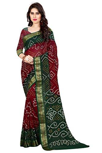 Saree (Silk Bandhani By Widespread Collection)