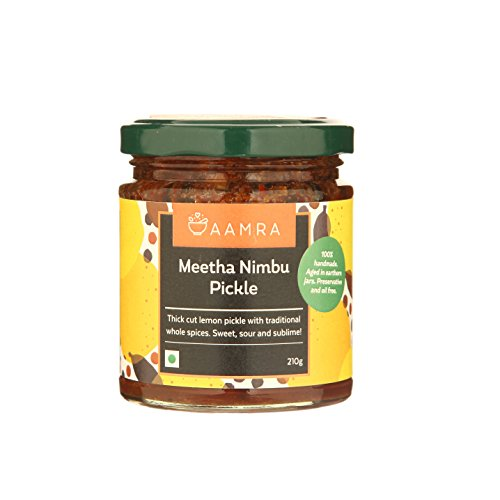 Aamra Traditional Homemade Meetha Nimbu Pickle 210 gm