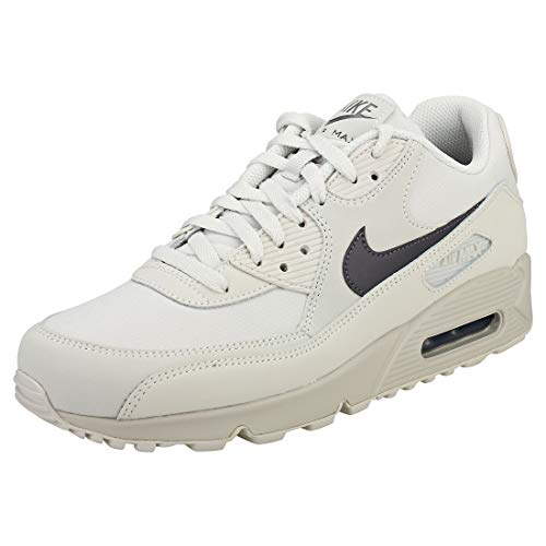 various colors 59848 362f4 Nike Herren AIR MAX 90 Essential Fitnessschuhe Mehrfarbig Thunder  Grey Light Bone 014, 45