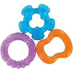 dBb Remond 3 Anneaux de Dentition à Rafraîchir - Assortis Orange - Bleu - Violet