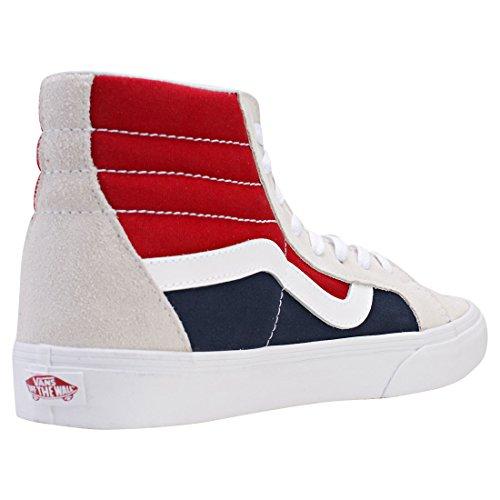 Vans Sk8-hi Reissue, Sneakers Hautes Mixte Adulte Multicolore (Retro Block)