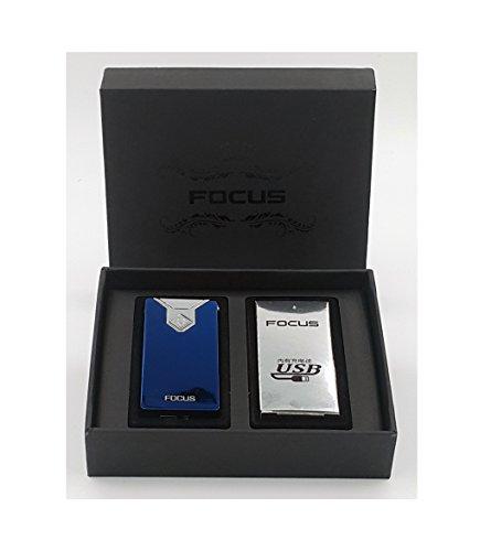Focus USB elektronisches Feuerzeug mit Lichtbogen in 5 Farben erh&aumlltlich (Foreward)