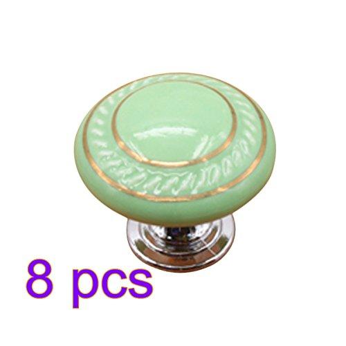 Hipsteen 8pcs carino Forma Rotonda cerchi doppie
