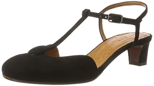 Chie Mihara Molow, Sandales  Bout ouvert femme Schwarz (ante negro)