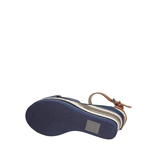 Wrangler WL171662 Chaussures Compensées Femme blue