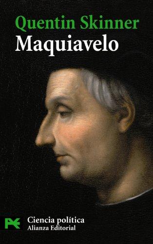 Maquiavelo (El Libro De Bolsillo - Ciencias Sociales)