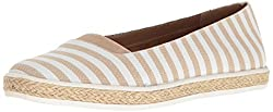 A2 by Aerosoles Womens Funny Bone Slip-on Loafer, Tan Stripe, 11 M US