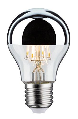 Paulmann 283.76 LED AGL 5W E27 230V Kopfspiegel Silber Warmweiß 28376 Allgebrauchslampe Leuchtmittel Glühlampe Lampe