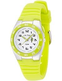 Cactus CAC-75-M12 - Reloj de pulsera niños, Plástico, color Verde