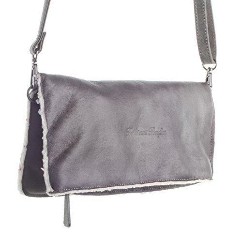 Damen Ronja Yuko Business Tasche, Grau (Fog), 3x15x29 cm Fritzi Aus Preußen