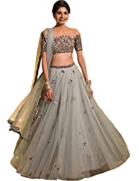c9c30681a4d78f Amazon.in  Greys - Lehenga Cholis   Ethnic Wear  Clothing   Accessories