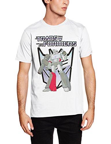 Rockoff Trade Herren T-Shirt Megatron Weiß