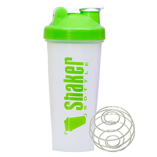 GetFitNow Protein Shaker Bottle for Gym 600ml (Green)  available at amazon for Rs.160