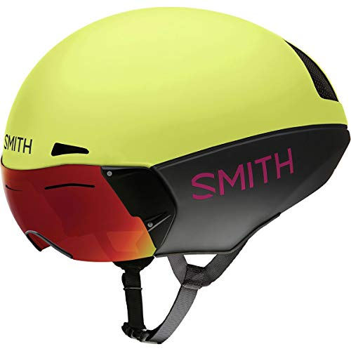 Smith Optics Podium TT Casco, Talla M color Matte Citron/Peony, 5559