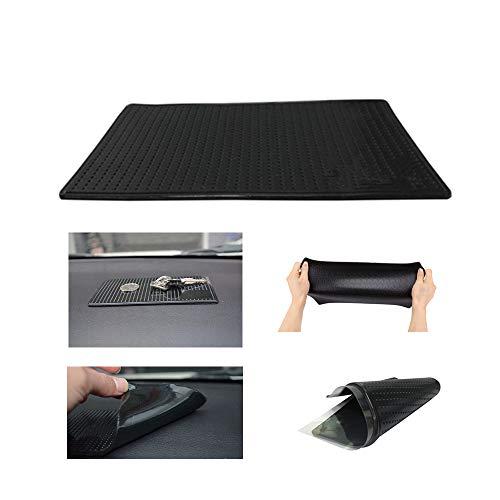 MeetRade Anti-Rutsch-Gel Pads, klebrige Gel-Pad, Silikon, Auto-Matte, Rutschfeste Gummimatten für Auto, Armaturenbrett, groß, 20 x 14 cm