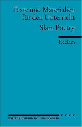 Buchseite und Rezensionen zu 'Texte und Materialien für den Unterricht. Slam Poetry' von Petra Anders