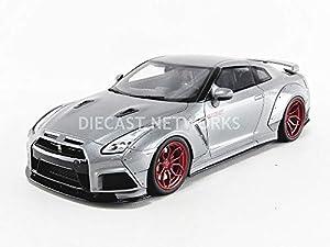 GT Spirit GT243 - Coche en Miniatura, Color Plateado y Rojo