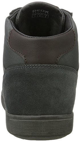 Geox U Taiki B Abx A, Baskets Montantes Homme Gris (Anthracite)