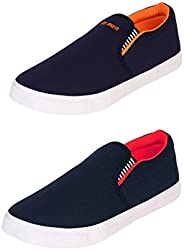 WORLD WEAR FOOTWEAR Casual Shoes (Set of 2 Pairs)