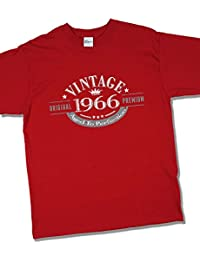 1966 Vintage Year - Aged to Perfection - 51 Ans Anniversaire T-Shirt pour Homme