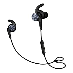 1MORE iBFree Bluetooth In-Ear Wireless Sport Headphones (Earphones/Earbuds/Headset) with Apple iOS and Android Compatible Microphone and Remote (Space Gray)
