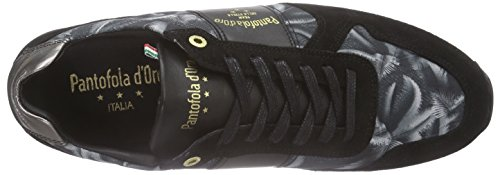 Pantofola d'Oro Teramo Print Herren Low-Top Grau (Dark Shadow)
