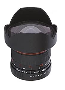 Ultra Wide-Angle 8MM F3.5 Fisheye Lens for Canon EOS 7D, 10D, 20D, 30D, 40D, 50D, 60Da, 60D, 70D, 100D, 350D, 400D, 450D, 500D, 550D, 600D, 650D, 750D, 760D, 1000D, 1100D, 1200D, 1300D Digital SLR Camera