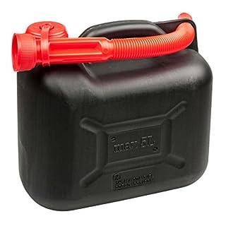 Walser 16373 Benzinkanister 10 Liter-UN-Geprüft mit Sicherheitsverschluss