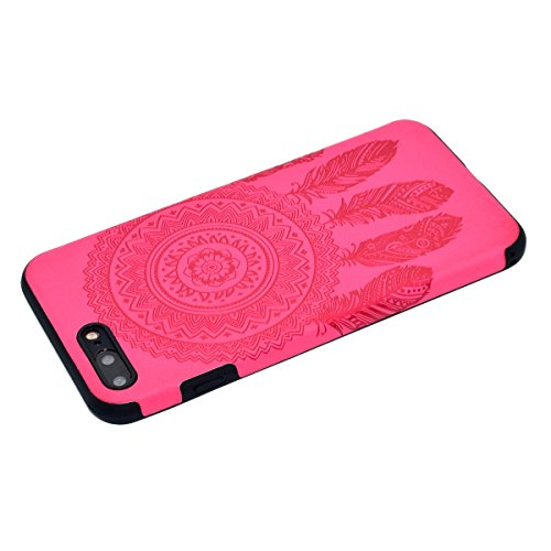 Custodia inShang cover per iPhone 6 Plus iPhone 6S Plus 5.5 Cellulare, super slim e leggero TPU materiale Cover posterior stili per iPhone 6+ iPhone 6S+ 5.5 inch + inShang Logo pennino di alta classe Rose chimes