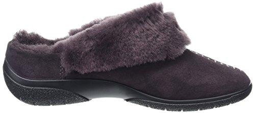 Hotter Damen Rhianna Hausschuhe Purple (Violet)