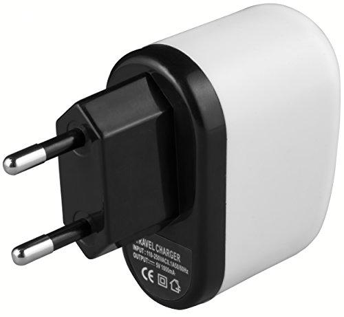 mumbi USB Ladegerät 1000mA einsetzbar als Netzteil / Ladekabel / Ladegerät -...