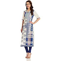 BIBA Women's Straight Kurta (WHIMSICA12366_white_medium)