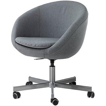 Sessel ikea grau  IKEA Drehstuhl
