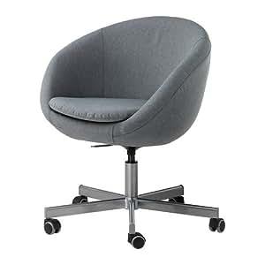 Chaise pivotante, gris Flackarp - - IKEA 60x37 cm SKRUVSTA