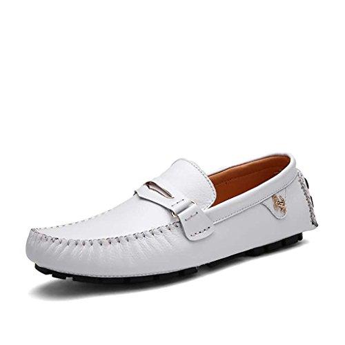 Feifei Hommes Chaussures Printemps Et Automne Loisirs Respirant Mode Marée Chaussures 3 Couleurs (Taille Choix Multiple) (Couleur : Gris, Taille : EU42/UK8.5/CN43)